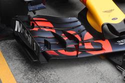 Detail Frontflügel von Max Verstappen, Red Bull Racing RB13