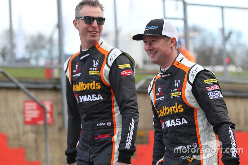Gordon Shedden, Matt Neal, Halfords Yuasa Racing Honda Civic Type R