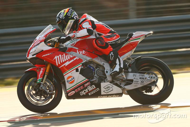 Julian Simon, Milwaukee Aprilia World Superbike Team