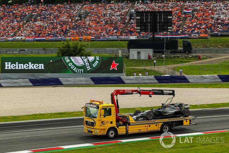 Haas F1 Team VF-17 Ромена Грожана