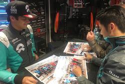 Нельсон Пике, NEXTEV TCR Formula E Team, и Тун Хопинь, Jaguar Racing