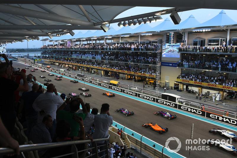 21. GP Abu Dhabi (29 November - 1 Desember)