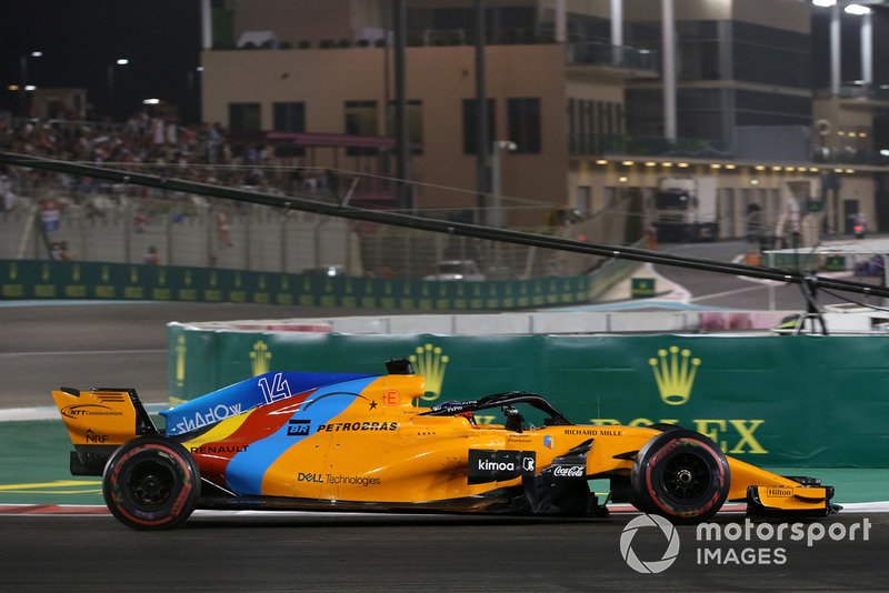 Alonso's amusing comments about his points tally