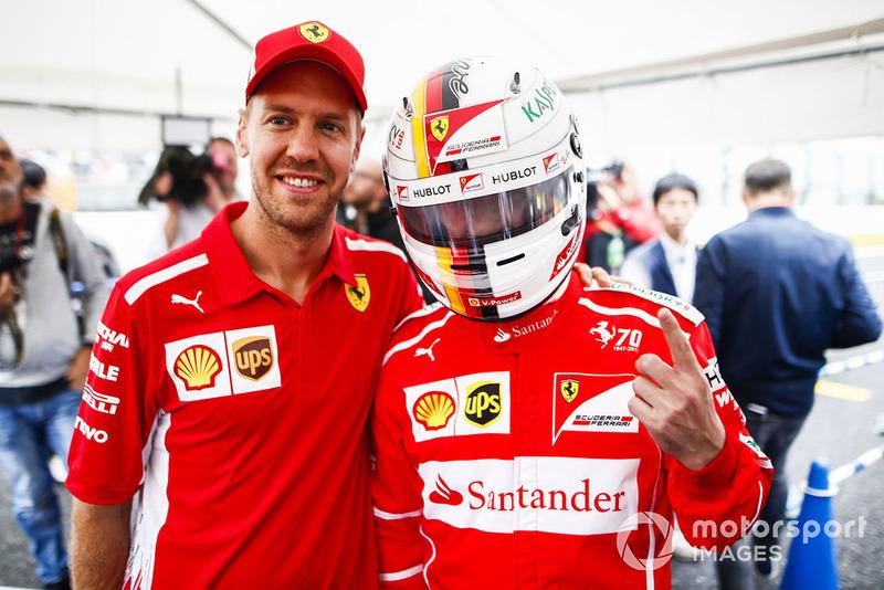 Sebastian Vettel, Ferrari, taraftarı