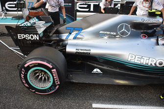 Car of Valtteri Bottas, Mercedes AMG F1