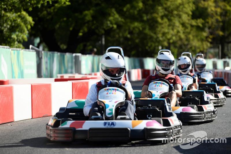Gokart FIA di Olimpiade Remaja