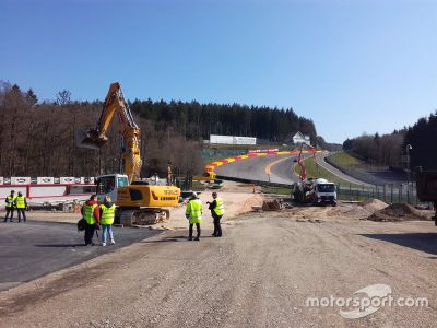Spa-Francorchamps onthulling WRX layout