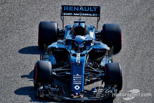 Test Alonso con Renault Bahrain