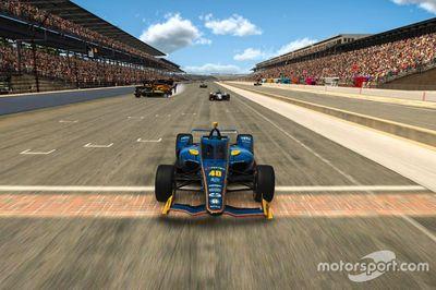 6 этап Indycar iRacing Challenge