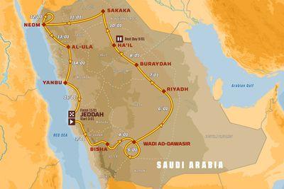 Anuncio del Dakar 2021