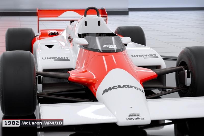 1982 McLaren MP4/1B