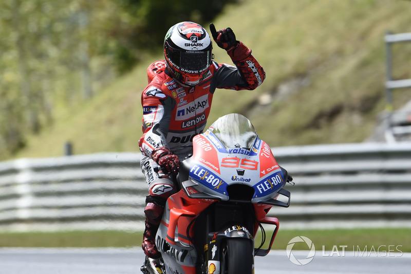MotoGP Austria: Jorge Lorenzo, Ducati Team