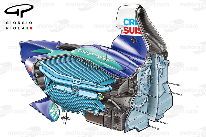 Sauber C24 chassis