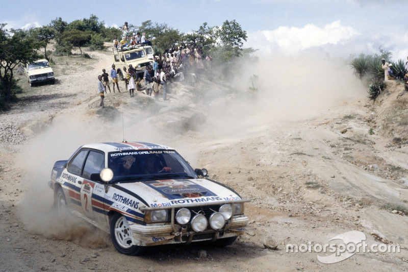 Ari Vatanen, Terry Harryman, Opel Ascona 400