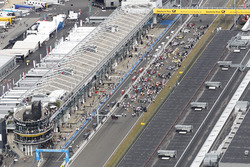 View to the starting grid