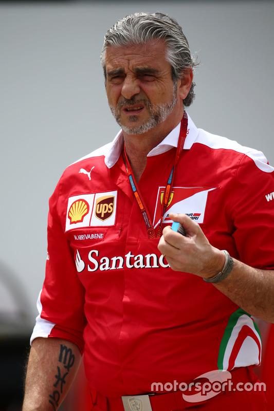 Maurizio Arrivabene, Ferrari teambaas