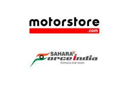 Motorstore.com und Sahara Force India