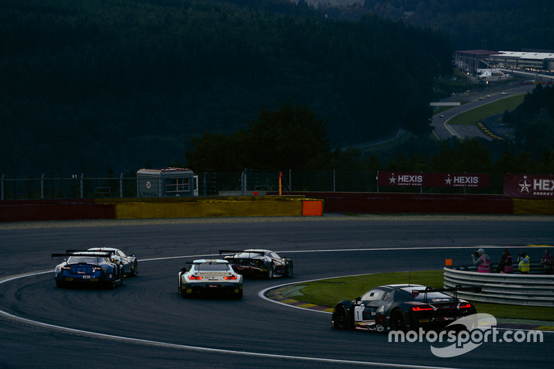 #1 Belgian Audi Club Team WRT Audi R8 LMS: Frederic Vervisch, Dries Vanthoor, Will Stevens