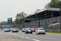 Monza, partenza Gara 1