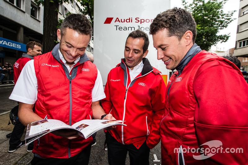 Audi Sport Team Joest Audi R18: Андре Лоттерер, Лоік Дюваль і Бенуа Трелує