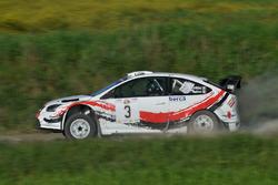 Luciano Cobbe, Fabio Turco, Ford Focus WRC #03