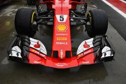 Ferrari SF70H: Nase und Frontflügel