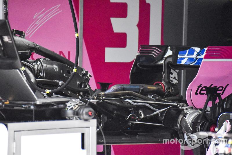 El área del motor al desnudo