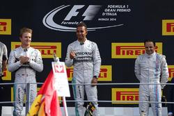 Podyum: Yarış galibi Lewis Hamilton, Mercedes AMG F1, 2. Nico Rosberg, Mercedes AMG F1, 3. Felipe Massa, Williams Martini Racing