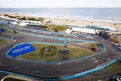 Nick Heidfeld, Mahindra Racing, Luca Filippi, NIO Formula E Team & Mitch Evans, Jaguar Racing
