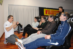 Journey inside the driver's mind event hosted by Pirelli at Formula Medicine
