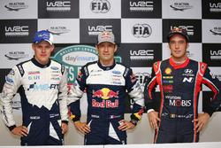 Ott Tänak, M-Sport, Sébastien Ogier, M-Sport, Thierry Neuville, Hyundai Motorsport