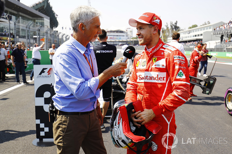 Damon Hill entrevista a Sebastian Vettel, Ferrari
