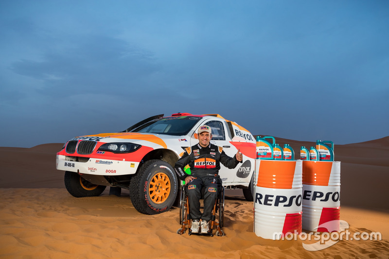 Presentación Isidre Esteve Repsol Rally Team