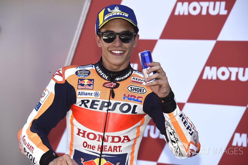 El poleman Marc Marquez, Repsol Honda Team