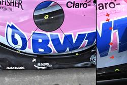 Force India sensörleri