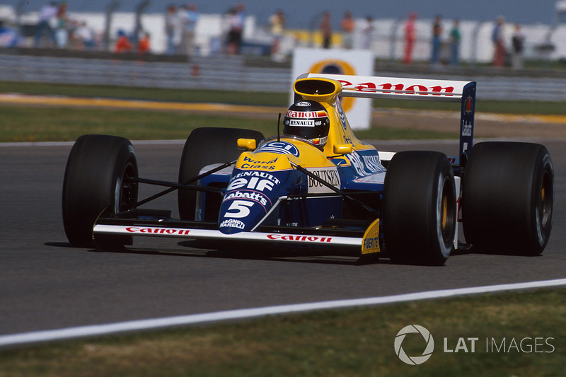 1990: Williams FW13B Renault (2 победы, 4-е место в КК)