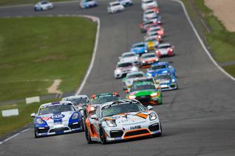 #940 Team GetSpeed Performance Porsche Cayman GT4 CS: 'Max', 'Jens'