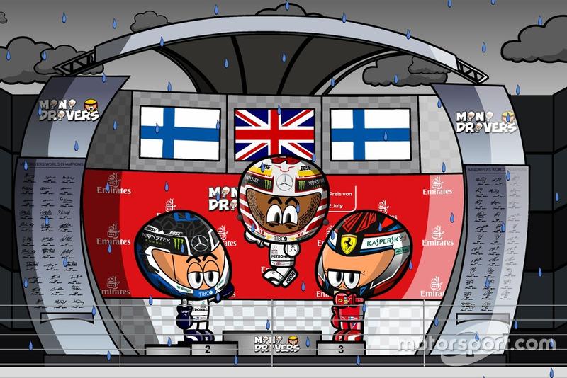 El GP de Alemania de Fórmula 1 2018, por MiniDrivers