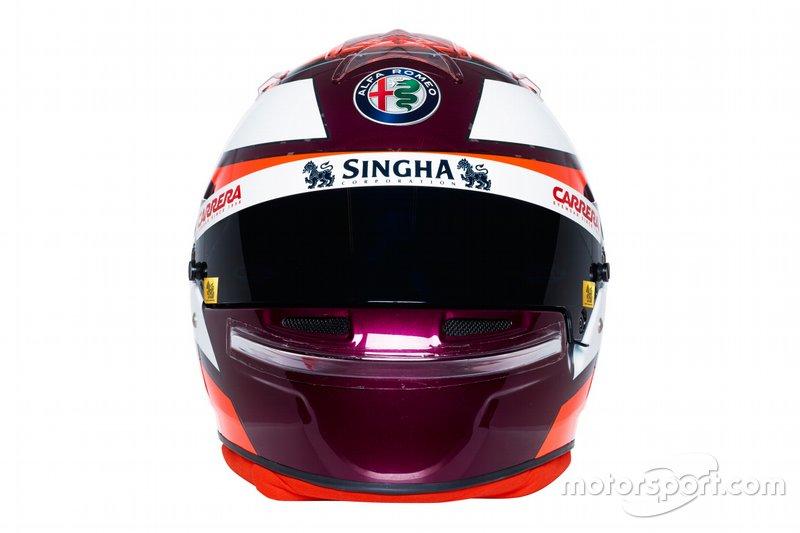 Новый шлем Кими Райкконена