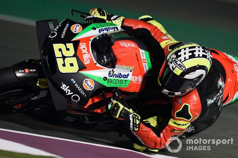 18º Andrea Iannone, Aprilia Racing Team Gresini - 1:55.343