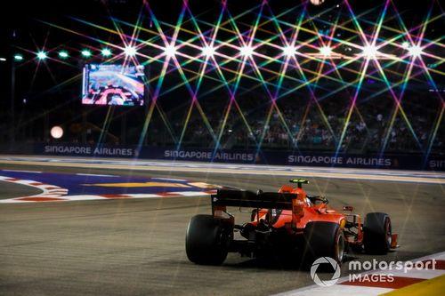 LIVE F1 - Le GP de Singapour en direct