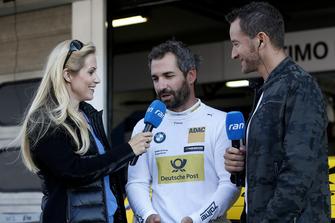 Andrea Kaiser, Sat 1 TV, Timo Glock, BMW Team RMG, Timo Scheider