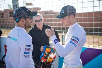 Gary Paffett, HWA Racelab, Stoffel Vandoorne, HWA Racelab, parlent sur la grille