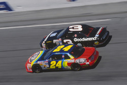 Jeff Gordon and Dale Earnhardt