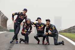 Даніель Ріккардо, Данііл Квят, Red Bull Racing, Макс Ферстаппен, Карлос Сайнс-мол., Scuderia Toro Rosso