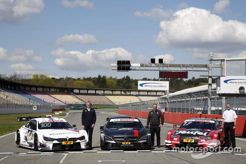 Jens Maquardt, BMW Motorsport Director, Ullrich Fritz, Team Principal Mercdes AMG; Dieter Gass, Head of Audi Sport DTM