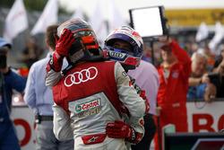 Edoardo Mortara Audi Sport Team Abt Sportsline, Audi RS 5 DTM and Miguel Molina Audi Sport Team Abt Sportsline, Audi RS 5 DTM