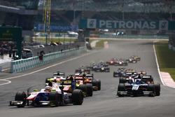 Luca Ghiotto, Trident, Mitch Evans, Pertamina Campos Racing, Raffaele Marciello, RUSSIAN TIME