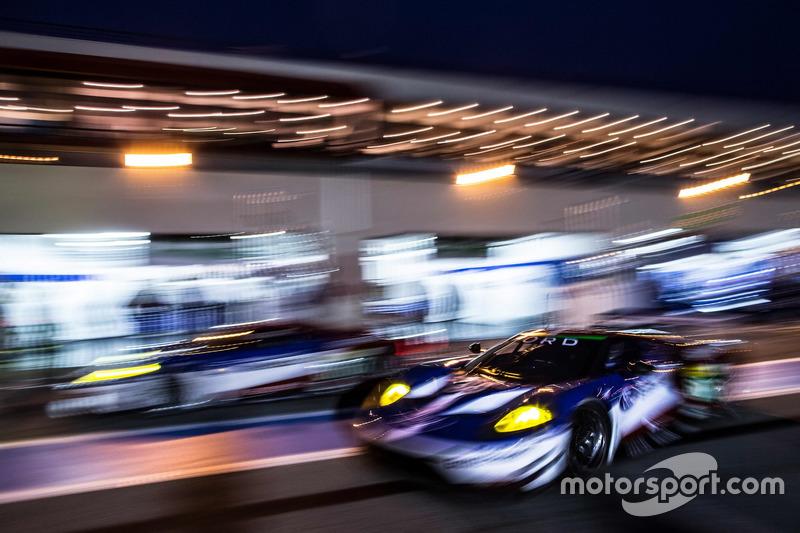 #66 Ford Chip Ganassi Racing Team UK Ford GT: Billy Johnson, Stefan Mücke, Olivier Pla