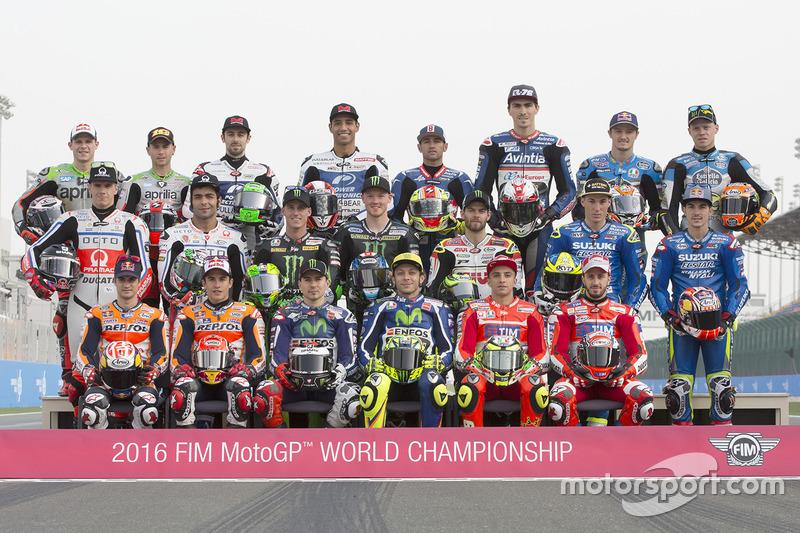 Foto de grupo de pilotos 2016